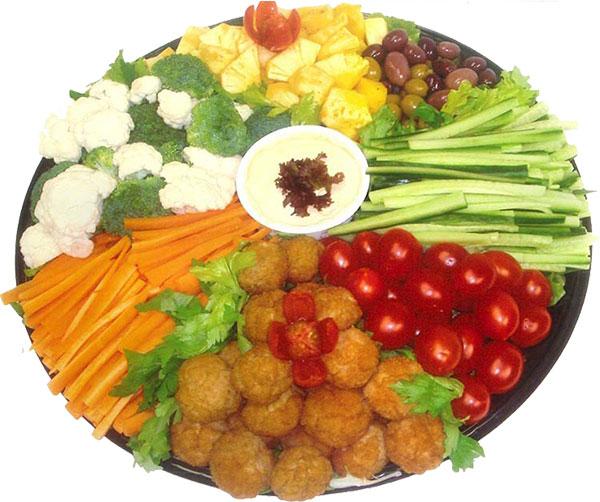 platter-vegetable
